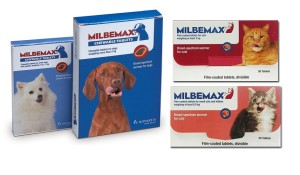 Milbemax Wormers for Dogs & Cats